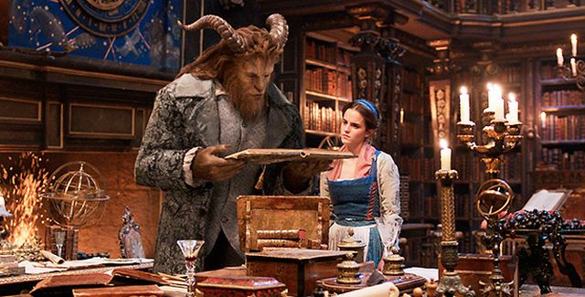 Eight New Beauty And The Beast Photos Debut