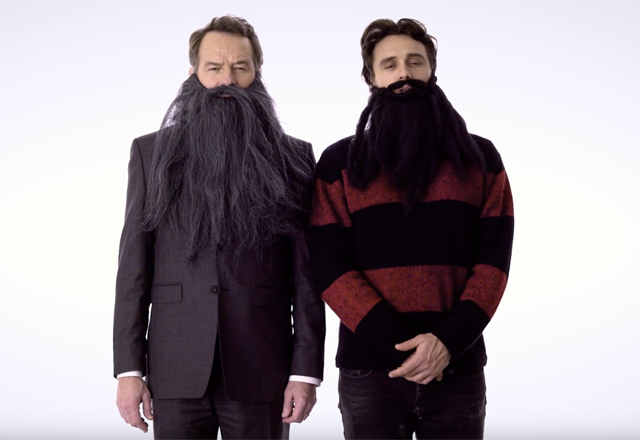 Why Him? Stars James Franco & Bryan Cranston Wear Beards for Cancer