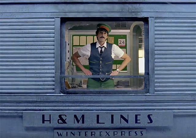 Wes Anderson H&M Commercial Features Adrian Brody