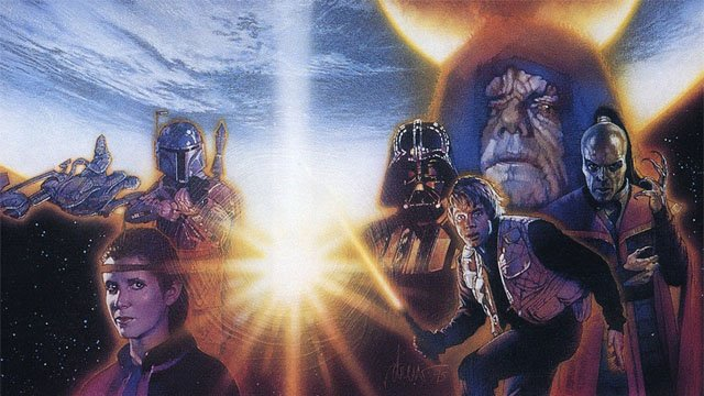 Shadows of the Empire is one of the most famous Star Wars stories.