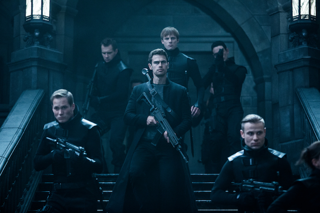 Theo James is another of the returning Underworld characters.