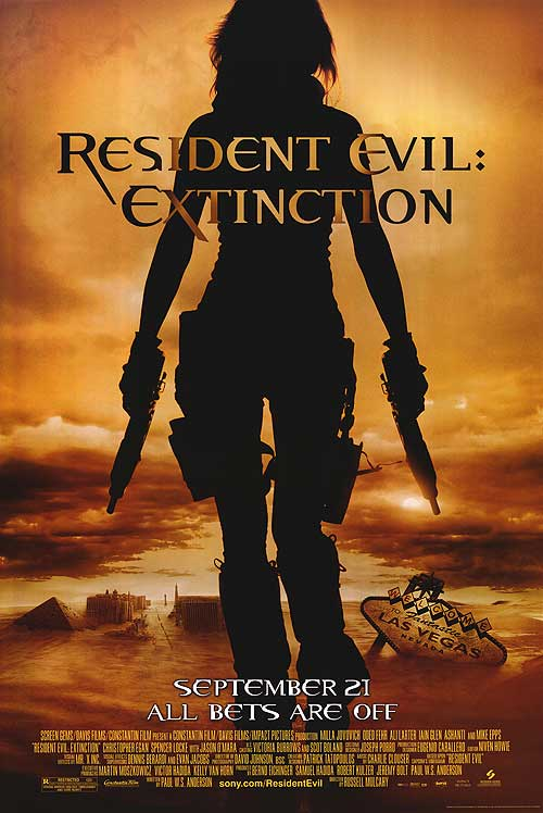 Extinction continues the Resident Evil story.