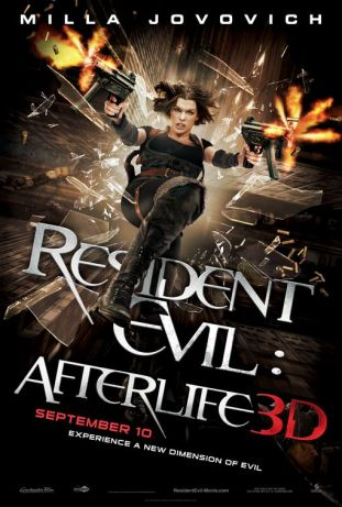 The Resident Evil story enters the third dimension with Afterlife!