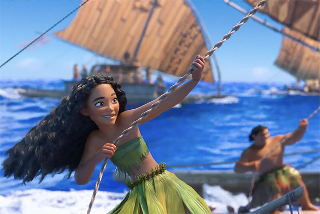 Watch the We Know the Way Song from Moana!