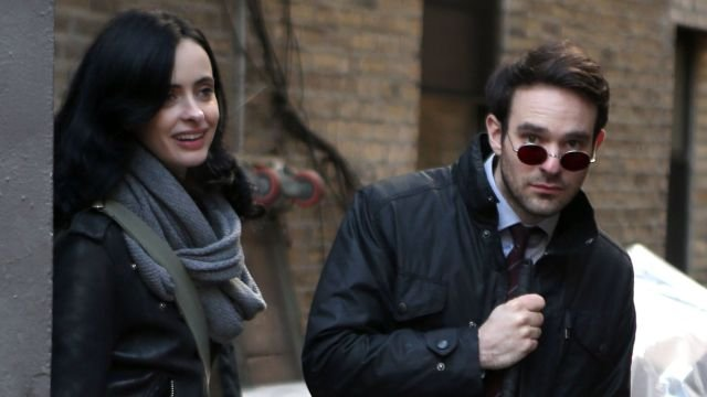Daredevil Meets Jessica Jones in New Marvel's The Defenders Set Photos!