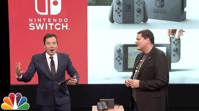 Nintendo Switch Gameplay Revealed on The Tonight Show