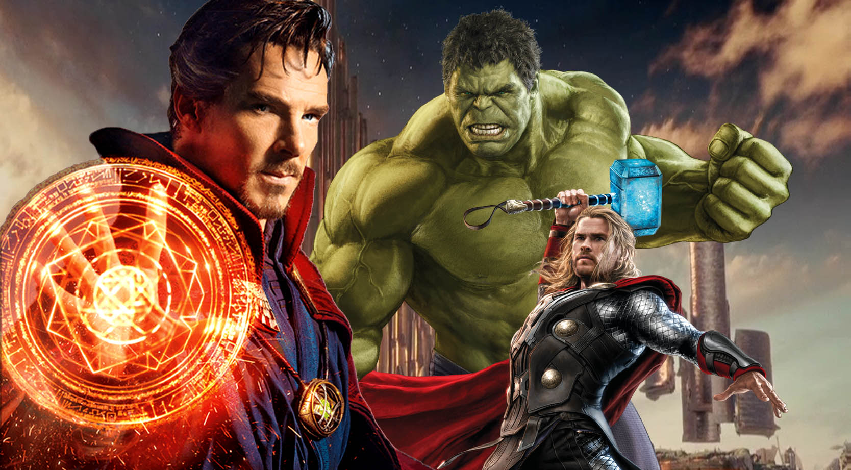 Doctor Strange is headed to Thor: Ragnarok.