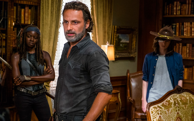 The Walking Dead Rock in the Road Photos and Details