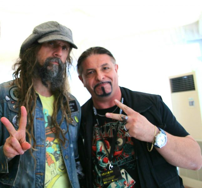 Rob Zombie and Roberto D'Onofrio in Sitges