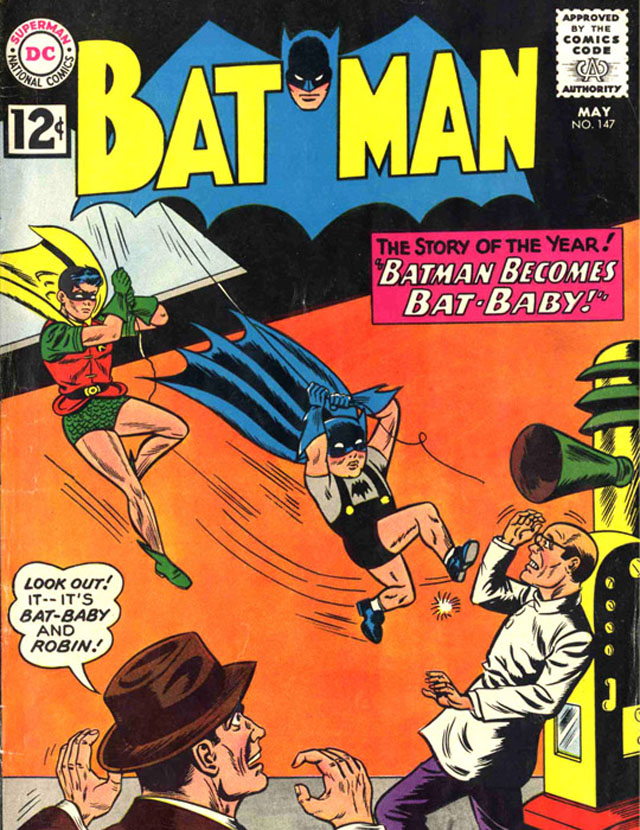 Bat-Baby makes for another of the weirdest Batman stories ever told!