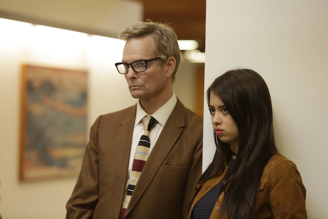 """LEGION -- """"Chapter 2"""" (Airs Wednesday, February 15, 10:00 pm/ep) -- Pictured: (l-r) Bill Irwin as Cary Loudermilk, Amber Midthunder as Kerry Loudermilk. CR: Michelle Faye/FX"""