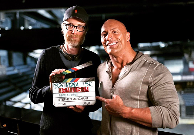 Dwayne Johnson Begins Production on Fighting With My Family
