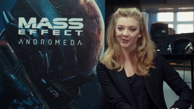Mass Effect: Andromeda: Get Checked Out by Natalie Dormer as Dr Lexi T'Perro
