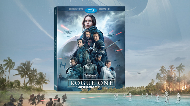 Walt Disney Pictures and Lucasfilm announces Rogue One Blu-ray, DVD and Digital HD releases! Will you pick up the Rogue One blu-ray?