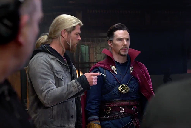 Doctor Strange and Thor Unite in New Blu-ray Featurette