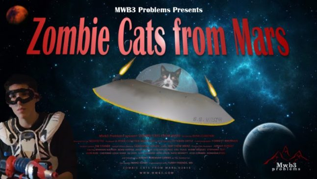 Zombie Cats from Mars are Coming for YOU!