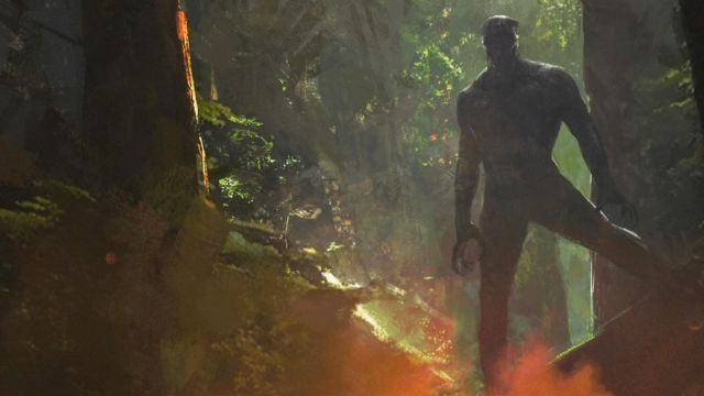 Black Panther Concept Art Reveals the World of Wakanda