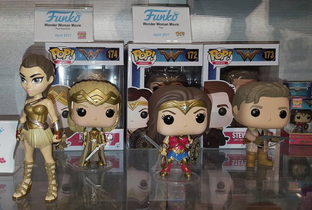 Funko Pop Toy Fair Gallery With Wonder Woman, Guardians & More