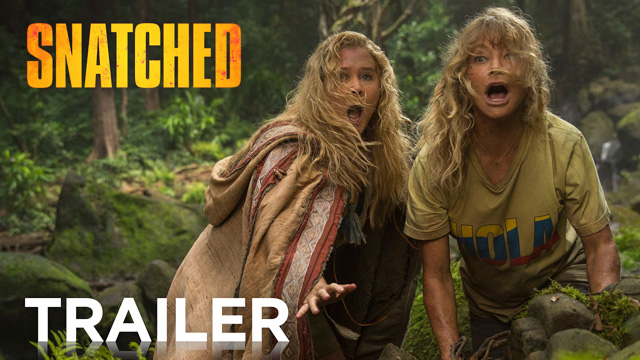 New Snatched Trailer Featuring Amy Schumer and Goldie Hawn