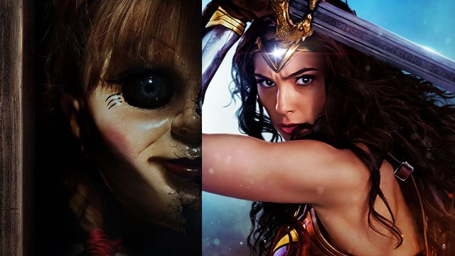Wonder Woman and Annabelle were showcased in the WB WonderCon panel. Read our WB WonderCon panel live blog.