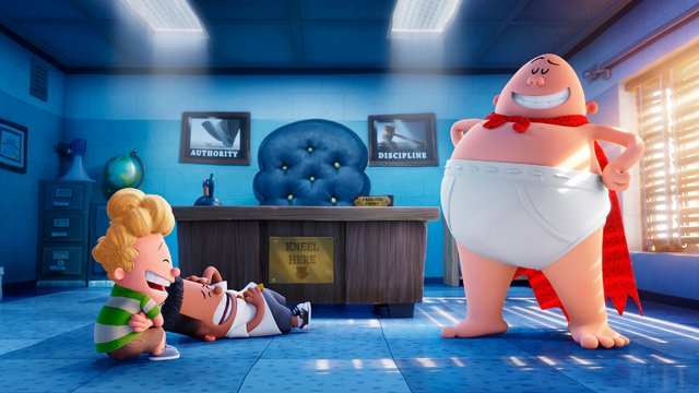 Captain Underpants was also part of the 20th Century Fox CinemaCon Presentation.