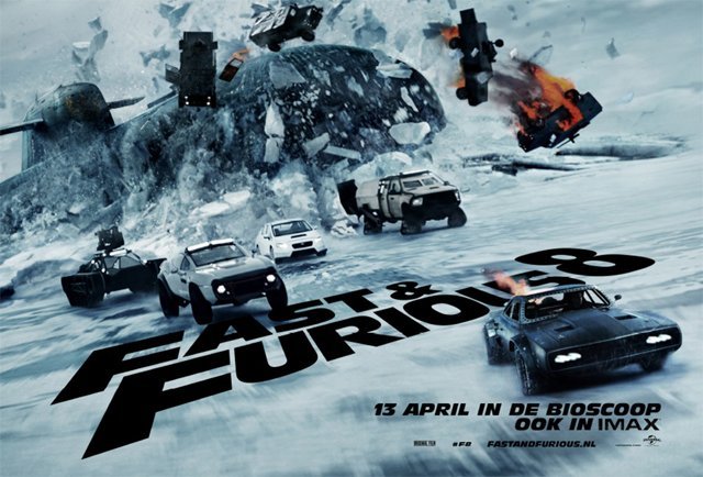 International Fate of the Furious Poster Surfaces