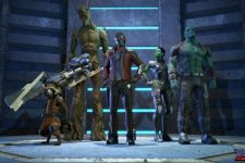 First Images from Telltales Guardians of the Galaxy