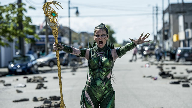 Rita Repulsa is one of the Power Rangers characters in the new film. She's the villain!