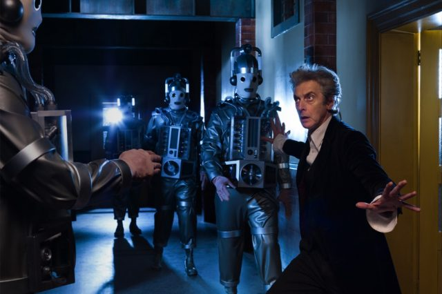 The Mondasian Cybermen will appear in the 11th and 12th episodes of Peter Capaldi's final season of Doctor Who