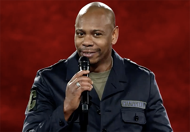 Here's your very first look at Dave Chappelle's new stand-up specials