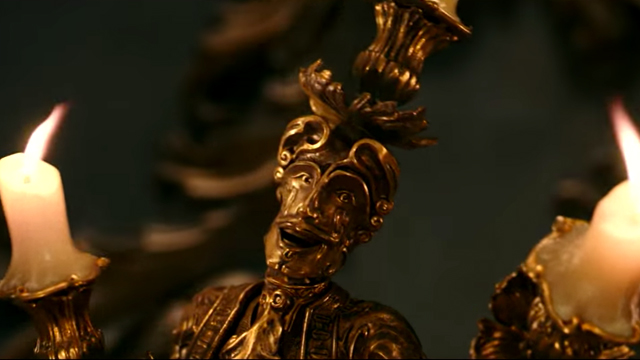 The live action beauty and the beast movie is on the way. This live action beauty and the beast clip wants you to smile!