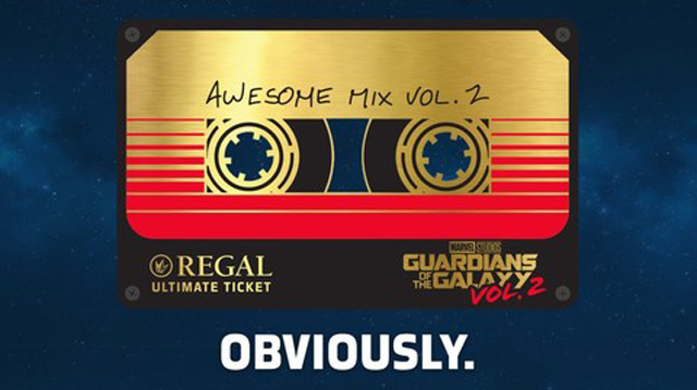 Regal Announces $100 Guardians of the Galaxy Vol. 2 Ultimate Ticket