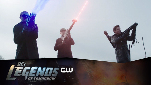 Legends of Tomorrow Season Finale Trailer and Arrow Clip