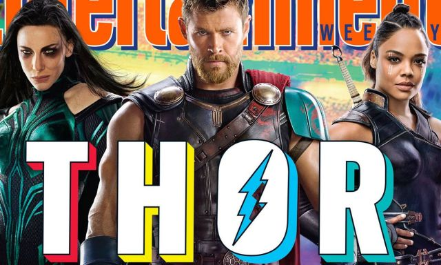 Thor gets a new haircut in Thor: Ragnarok, alongside new set images
