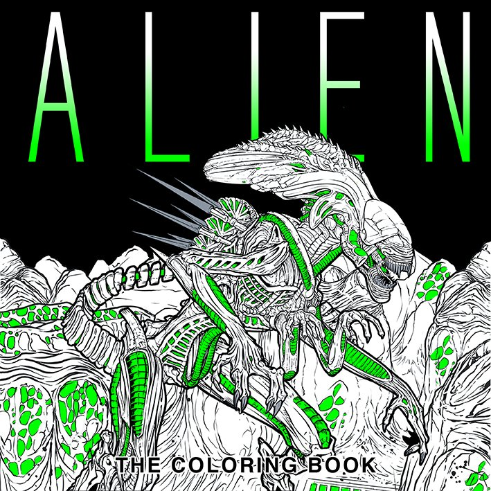Win a Copy of Alien: The Coloring Book!