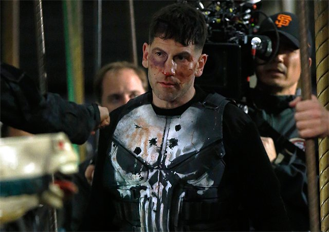 Frank Castle is Back in Action in New Punisher Set Photos