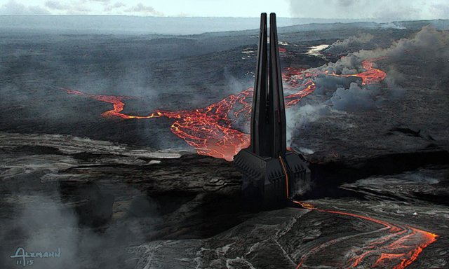 The-Art-of-Rogue-One-A-Star-Wars-Story-03-dart-vader-castle-Concept-Art