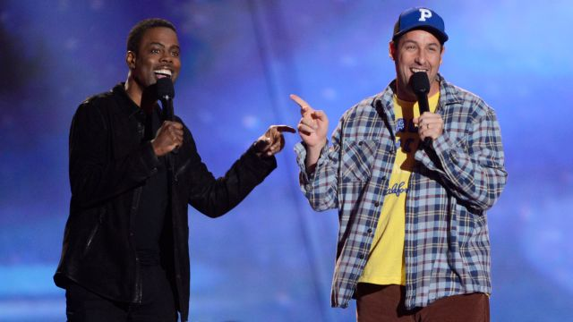 Adam Sandler and Chris Rock reteam for Netflix comedy The Week Of