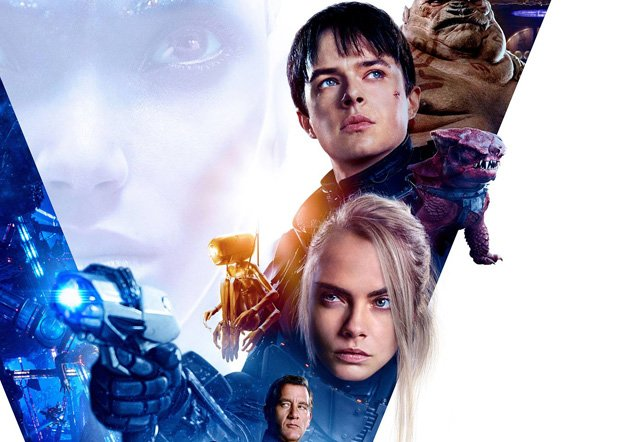 New Valerian Poster Featuring Dane DeHaan, Cara Delevingne and Rihanna