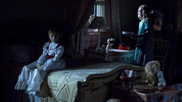 Explore the world of The Conjuring spinoff with our visit to the Annabelle Creation set. Annabelle Creation hits theaters in August.