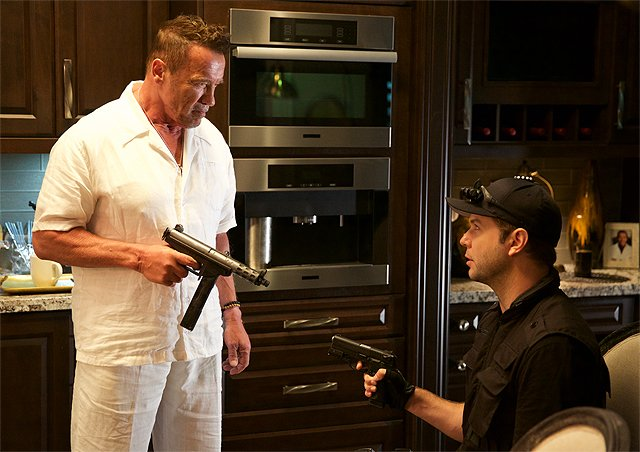 Arnold Schwarzenegger in First Look at Why We're Killing Gunther