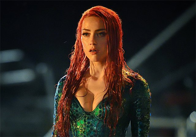 Amber Heard Emerges in First Mera Photo From Aquaman