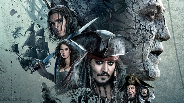 Pirates of the Caribbean 5 IMAX Poster Rises from the Deep
