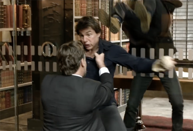 Dr. Jekyll vs Tom Cruise Fight Teased in The Mummy Featurette