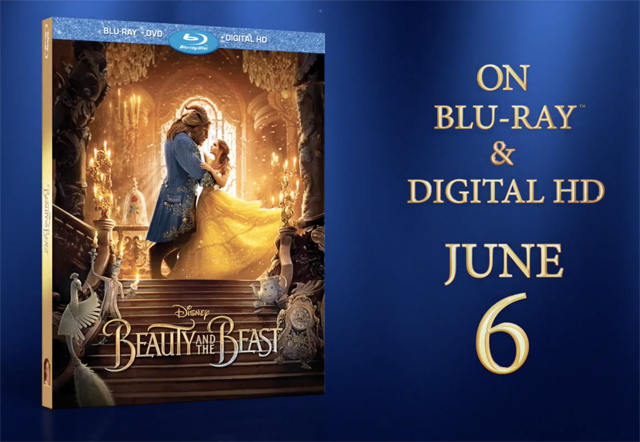 Beauty and the Beast Blu-ray Details & Trailer Arrive