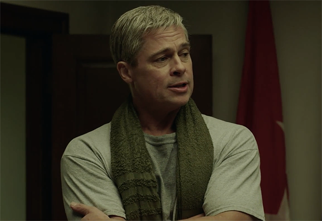 First War Machine Clip with Brad Pitt & Anthony Michael Hall