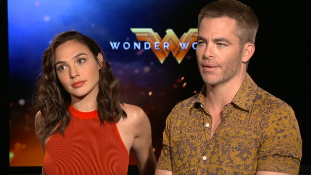 CS chats with Wonder Woman herself, Gal Gadot and Chris Pine.