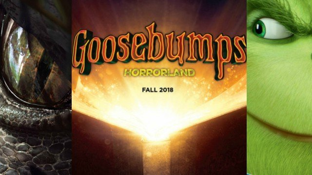 Goosebumps 2 Title Revealed, Plus Promo Art for Jurassic World 2 and More!