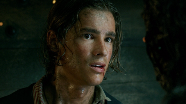 Brenton Thwaires plays Henry, one of the new Pirates of the Caribbean characters.