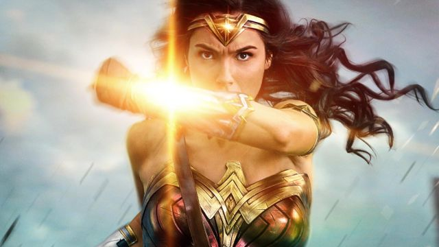 Wonder Woman Blocks Bullets in New Poster